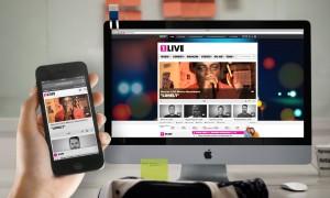 1LIVE Webseite mit Radioplayer