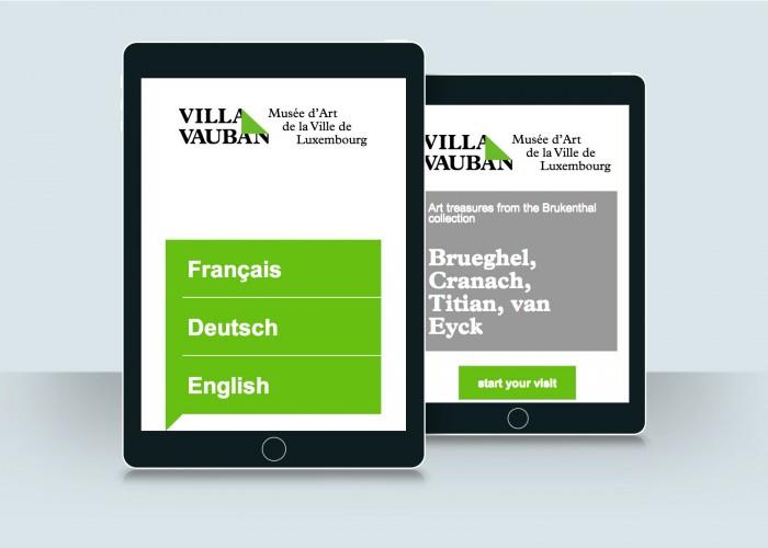 Museums Tablet - Ville de Luxembourg