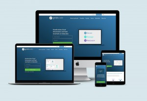gridscale website multiple devices